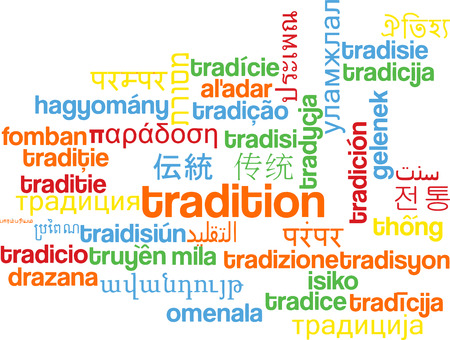 german tradition: Background concept wordcloud multilanguage international many language illustration of tradition Stock Photo