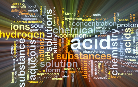 react: Background concept wordcloud illustration of acid glowing light Stock Photo