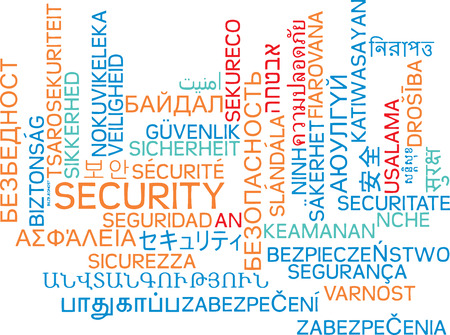 international security: Background concept wordcloud multilanguage international many language illustration of security