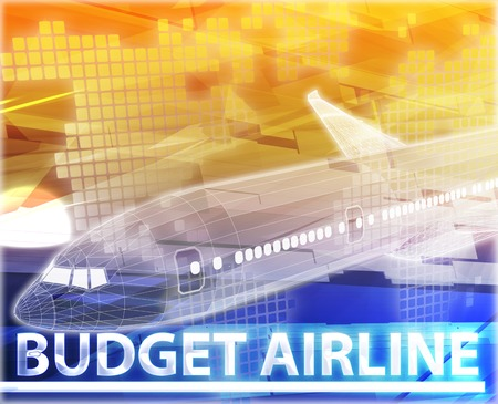 frequent: Abstract background digital collage concept illustration budget airline air travel