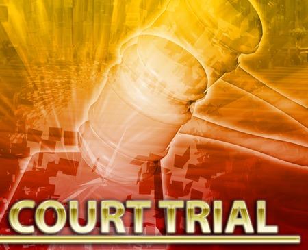 justicia: Resumen de antecedentes collage digital juicio ilustración del concepto de tenis justicia legal