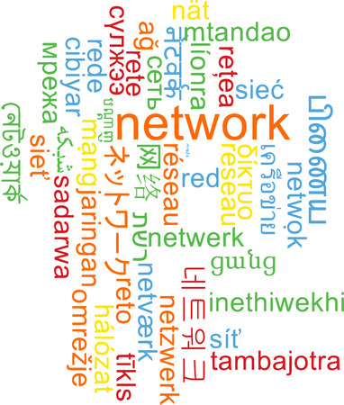 multilanguage: Background concept wordcloud multilanguage international many language illustration of network