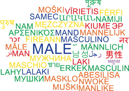chinese sex: Background concept wordcloud multilanguage international many language illustration of male