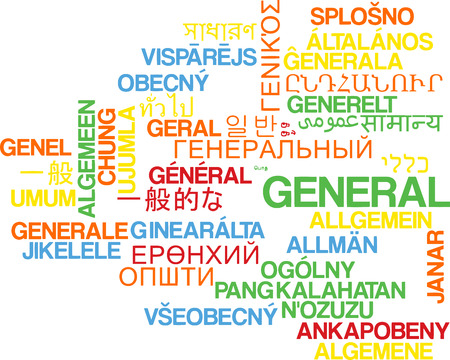widespread: Background concept wordcloud multilanguage international many language illustration of general Stock Photo
