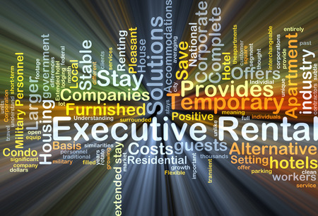cost basis: Background concept wordcloud illustration of executive rental glowing light