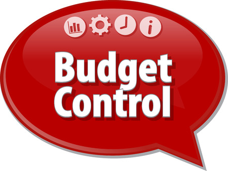 allocation: Blank business strategy concept infographic diagram illustration Budget Control Stock Photo
