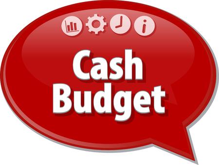 빈 비즈니스 전략 개념 infographic 다이어그램 그림 현금 예산
