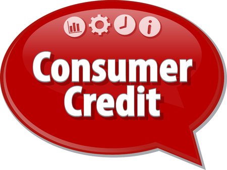 installment: Blank business strategy concept infographic diagram illustration Consumer Credit