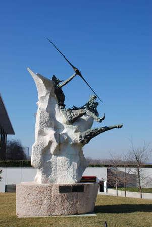 Glory Quixote! 워싱턴의 문학 영웅 기념비.