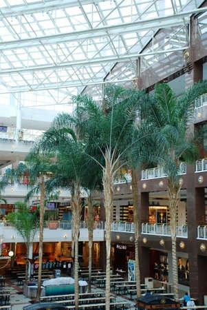 earlier: Earlier morning in mall.