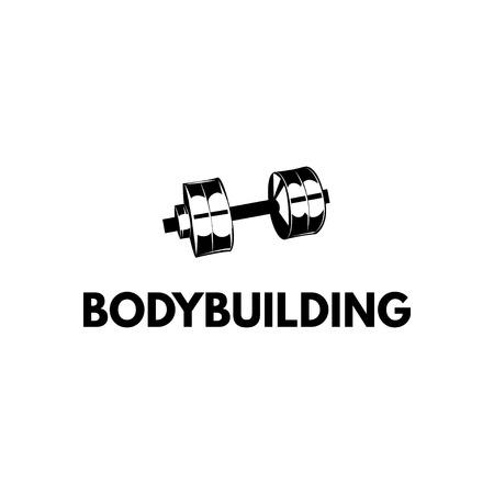 Fitness club logo concept design. Illustration