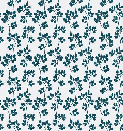 romance: Seamless pattern of romance design purple flower silhouette Vector  Illustration