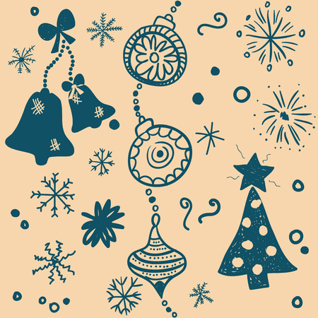Christmas pattern Vector eps10