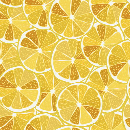 Lemon seamless pattern Illustration  Vector eps10