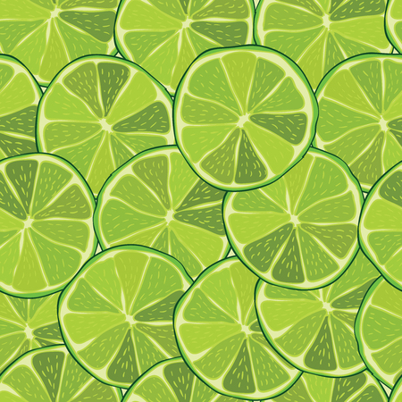 Lime seamless pattern Illustration  Vector eps10 Illustration