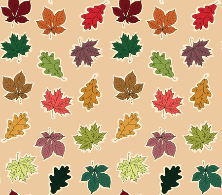 Seamless pattern foliage