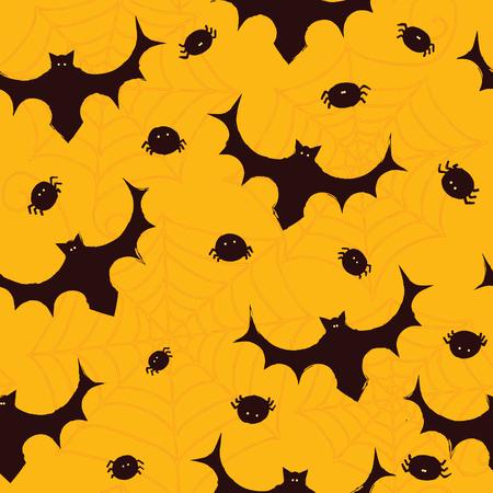 Seamless pattern Halloween background