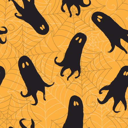 Seamless pattern Halloween background
