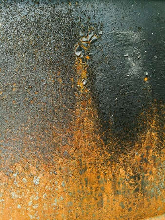 surface: Old metal surface Stock Photo