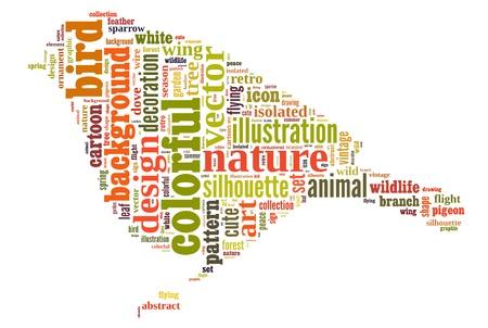 El texto de la nube de la palabra actuar en forma del objeto b�sico que se significa la palabra nube en forma de
