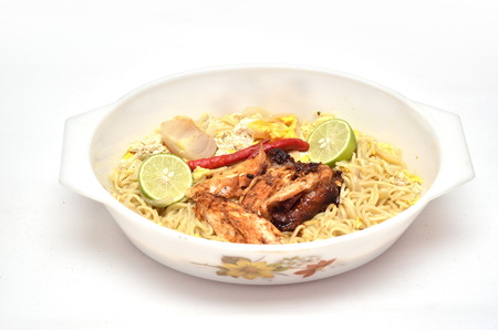 Instant Noodle with chicken