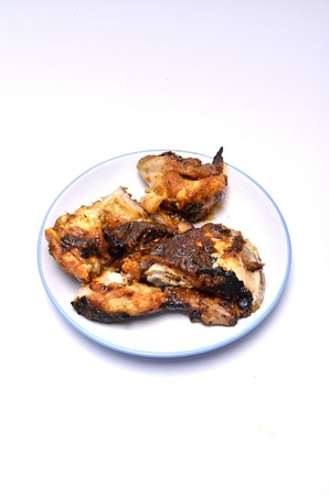 carnes y verduras: Pollo al horno con especias