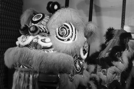 lion dance: Chinese lion dance costume