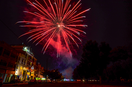 Fireworks show Imagens