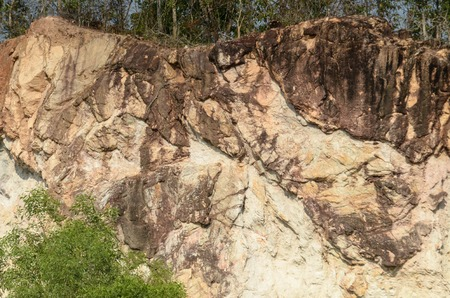 Quarry Site Stock Photo