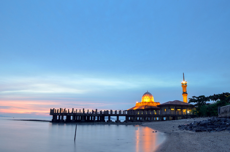 Al-Hussein Mosque of Kuala Perlis Malaysia Stock Photo