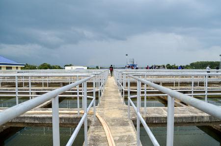 sedimentation: Drinking water treatment plant : Sedimentation Tank