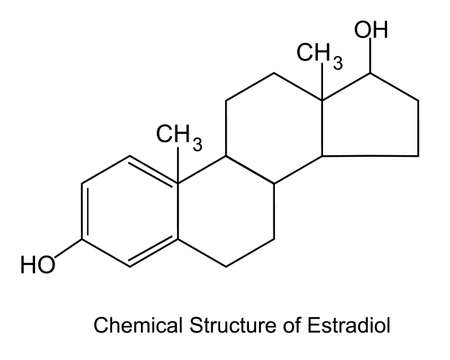 Estradiol is the most potent form of mammalian estrogenic steroids. Estradiol is produced in the ovaries.