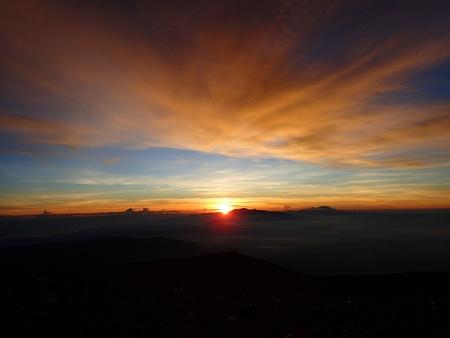 mountaintop: Semeru Sunrise