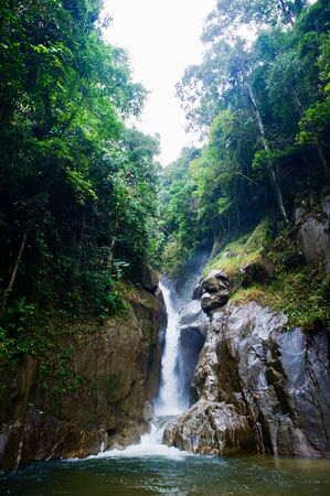 Sungai Chilling Kuala Kubu Baru trails Фото со стока