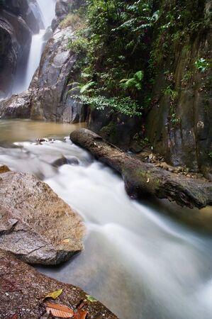 Sungai Chilling Kuala Kubu Baru trails Stock Photo