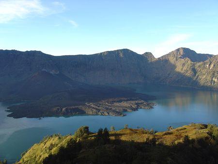 Rinjani Crater Lake Stock Photo - 654826