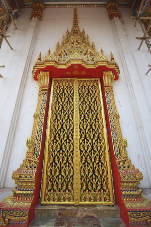 craft product: Thailand, Door, Gold Colored, Carving - Craft Product, Pattern