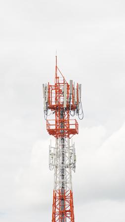 transmit: Antennas transmit and receive signals via satellite to use
