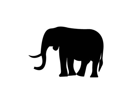 Elephant icon vector illustration.
