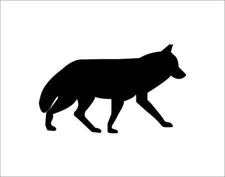 Fox web icon. - Vector