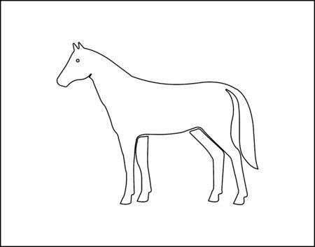 Horse icon - Vector