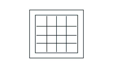Prison vector icon. Simple flat symbol. Perfect  pictogram illustration on white background.  イラスト・ベクター素材