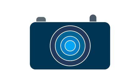 Camera icon vector concept illustration for design.  イラスト・ベクター素材