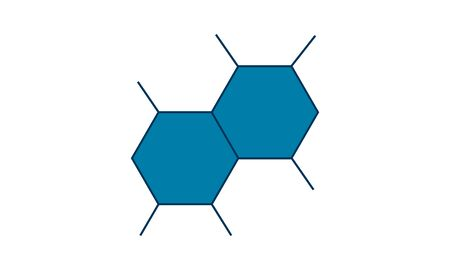 Molecule icon . Chemistry  icon concept vector illustration. Stock Illustratie