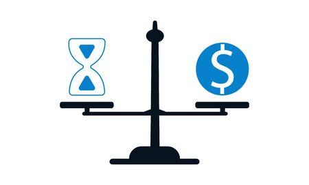 Budget estimate icon vector illustration.
