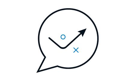 Beautiful Meticulously Designed Discuss Strategic Planning Icon