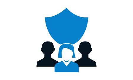 Beautiful, meticulously designed Group protection icon. Perfect for use in designing and developing websites, printed materials and presentations, Promotional Materials, Illustrations or Infographics