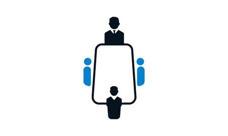 Business consulting vector icon.