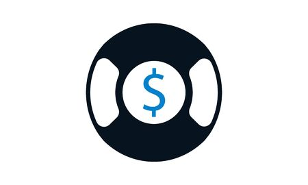 Business rescue icon concept vector illustration