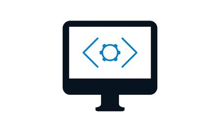 Web Development concept, programming and coding icon. Banco de Imagens - 133681003